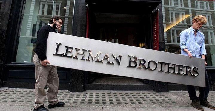 caida lehman brothers