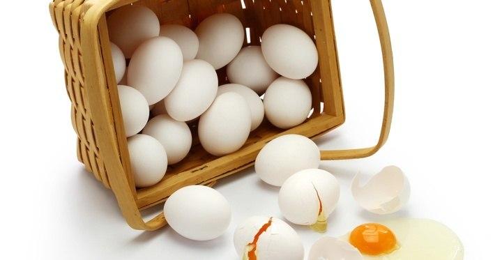 huevo misma cesta